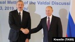 Ռուսաստանի և Ադրբեջանի նախագահները հանդիպում են Սոչիում, 3-ը հոկտեմբերի, 2019թ․