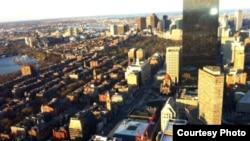 Pamje e një pjese të Bostonit