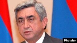 Armenia -- President Sezh Sarkisian.