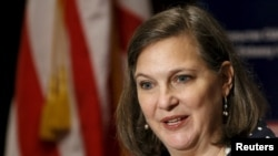 U.S. Assistant Secretary of State Victoria Nuland says Russia is feeling 'pain' from economic sanctions imposed over its actions in Ukraine.