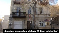 Azerbaijan. Baku. Embassy of Switzerland in Azerbaijan