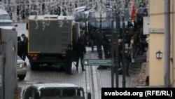 Разгон Маршу народаўладзьдзя, Менск, 8 лістапада.
