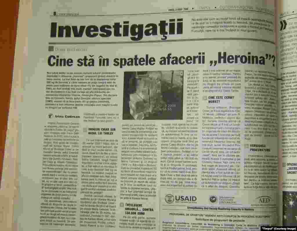 """Timpul"", 6 iunie 2008"