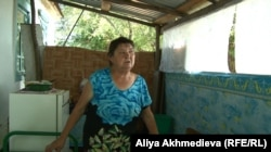 Көктұма тұрғыны Людмила Чернобаева. Алматы облысы, 23 тамыз 2015 жыл.