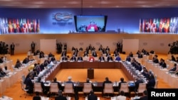 Cancelara germană Angela Merkel deschide summitul G20 de la Hamburg, 7 iulie 2017