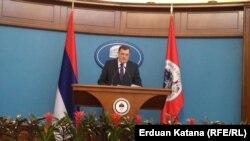 Milorad Dodik na konferenciji za novinare: Nisam bio spreman da prihvatim i predam policiju RS