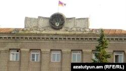 Լեռնային Ղարաբաղ - Կառավարական գլխավոր շենքը Ստեփանակերտում