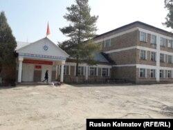 Школа №5 имени Асанбека Кабаева в селе Авлетим.