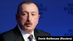 Azerbaijani President Ilham Aliyev succeeded his father in 2003.