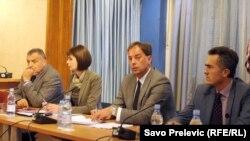 Sednica Administrativnog odbora, 9. novembar 2015, foto: Savo Prelević