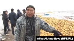 Серик Ахмади, фермер в Панфиловском районе. Алматинская область, 17 марта 2014 года.