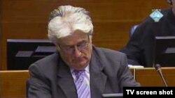 radovan Karadžić, bivši lider bosanskih Srba na suđenju u Hagu, 05. oktobar 2011.