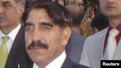 Pakistan's newly appointed director-general of Inter-Services Intelligence (ISI), Lieutenant General Zaheer-ul-Islam, attends a function in Karachi in December.