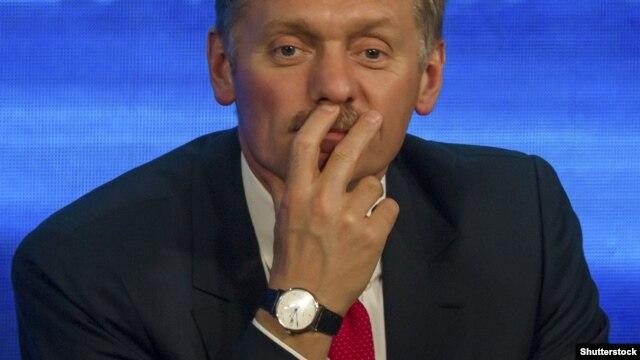 Dmitry Peskov, Russia's presidential spokesman.