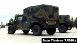 Vozila Humveeji Kosovskih bezbednosnih snaga