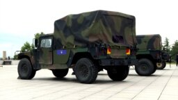 Kosovo has just received two dozen Humvees from the United States. (file photo)