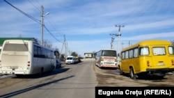 Автобусы в селе Кошница, Дубоссарского района, 24 февраля 2019 года