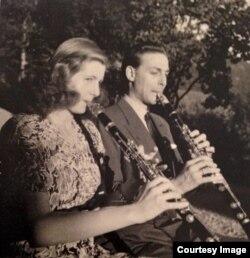 Magdi & Antoine-Pierre de Bavier în anii 1940