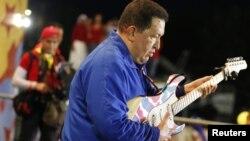 Венесуэла президенті Уго Чавес.