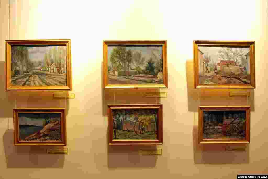 Картины Леонида Брюммера, на которых город Джамбул (ныне Тараз) запечатлен таким, в каком виде уже не существует.