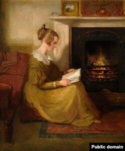 Ўільям Малрэды, «Чытаньне пры каміне» (1825)