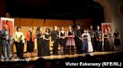 Cei mai buni dintre buni la concertul de închidere alături de profesori și acompaniatori