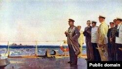 "Картина ""Сталин в Севастополе"""