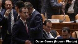 Cabinetul Ludovic Orban, în ziua moțiunii de cenzură, când a fost demis.