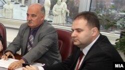 Архива - Поранешниот јавен обвинител Марко Зврлевски и поранешниот претседател на Основниот суд Скопје 1 Владимир Панчевски.