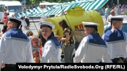 Российские моряки в Севастополе