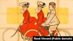 «О, первого велосипеда великолепье!...»