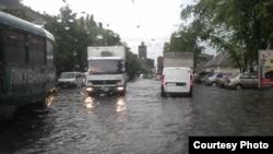 Ukraine -- Flood after rain, Kharkiv, 29May2013