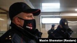 Полицейские в Москве, иллюстрационное фото