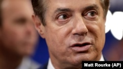 Election strategist Paul Manafort (file photo)