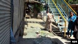 Pasojat e sulmit në provincën Badakshan, 20 qershor 2016.