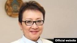 Алматы қаласы денсаулық сақтау басқармасының бастығы Роза Қуанышбекова. (Сурет басқарманың ресми сайтынан алынды)