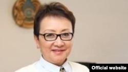 Роза Куанышбекова, начальник управления здравоохранения города Алматы. Фото с официального сайта ведомства.
