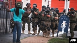 Police actions in the restive Missouri town of Ferguson have sparked outrage both in the United States and beyond.