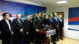 Predstavnici opozicionih stranaka u Republici Srpskoj, arhivska fotografija