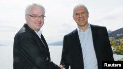 Ivo Josipović i Boris Tadić