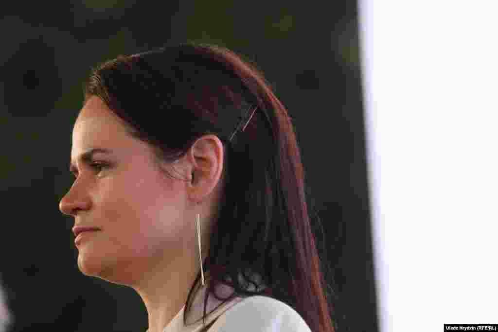 Світлана Тихановська, зареєстрована кандидатка на посаду президента Республіки Білорусь