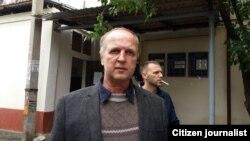"""Тошкентлик Андрей Плужников """"Рембрандт"""" асари отамерос эканини таъкидлайди."""
