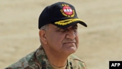 Pakistani army chief General Qamar Javed Bajwa.