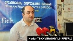 Бывший глава Центра по правам человека Уча Нануашвили о своем опыте и планах рассказал за 15 минут