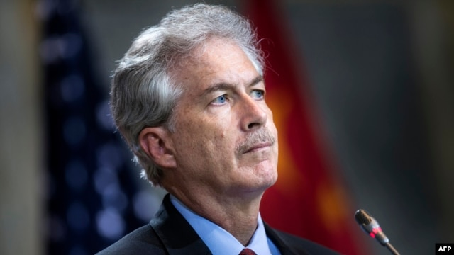 Deputy Secretary of State William Burns is expected to meet with military and interim government officials.