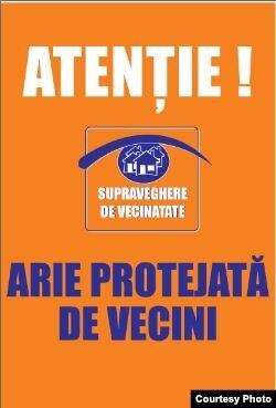 Afişul pe care activiştii îl vor instala în Ialoveni