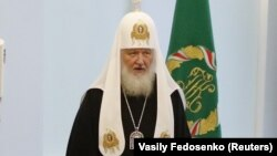 Patriarul Kiril la reuniunea Sfântului Sinod de la Minsk din 15 octombrie 2018.