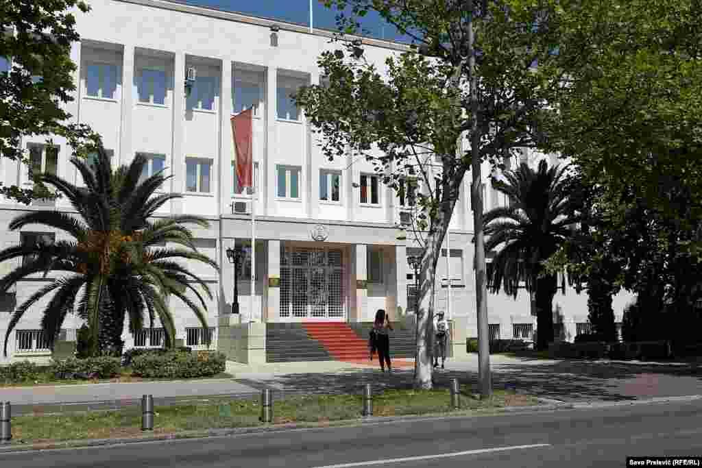 Sedište predsednika Crne Gore