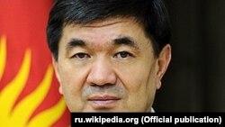 Кыргызстандын премьер-министри Мухаммедкалый Абылгазиев.