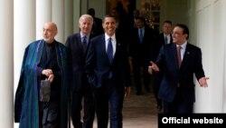 Претседателите на САД, Пакистан и Авганистан во Вашингтон